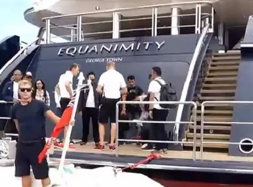 Jho Low Equanimity Yacht Confiscated - Seized by Indonesia Police - US Authorities