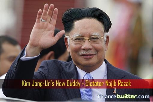 North Korea Kim Jong Un New Buddy - Malaysia Dictator Najib Razak