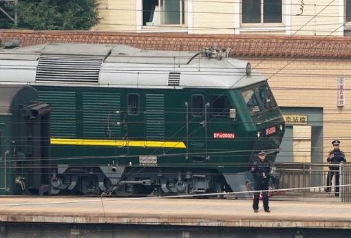 North Korea Kim Jong Un Visit China - Green Train