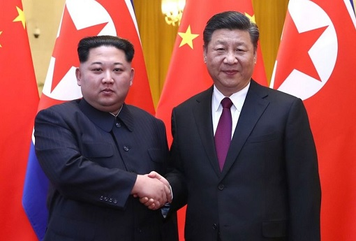 North Korea Kim Jong-un Meets China President Xi Jinping