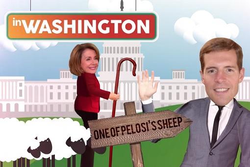 Pennsylvania 18th Congressional District - Democrat Conor Lamb - Pelosi Sheep