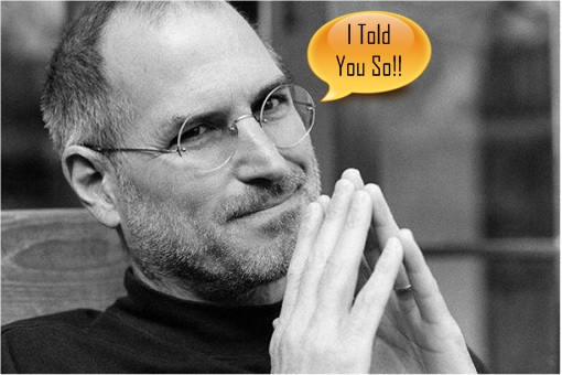 Steve Jobs - I Told You So