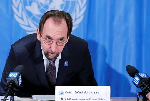 UN High Commissioner for Human Rights Zeid Raad Al Hussein - 2