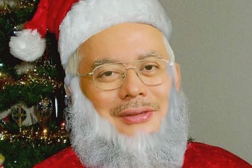 Najib Razak - Santa Claus