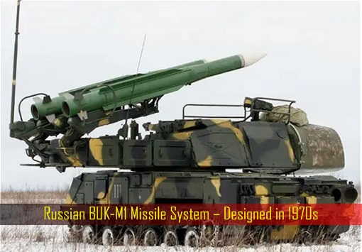 Russian BUK-M1 Missile System – Designed in 1970s