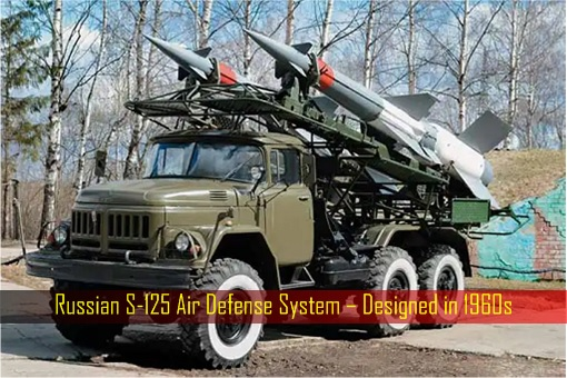 Russian S-125 Air Defense System – Designed in 1960s