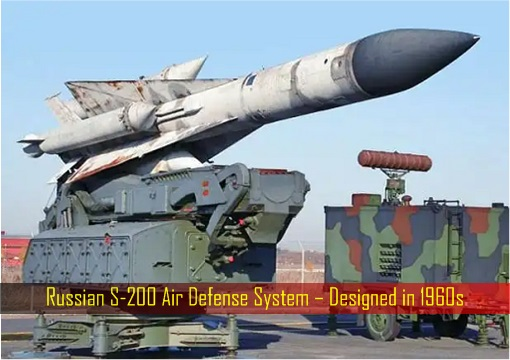 Russian S-200 Air Defense System – Designed in 1960s