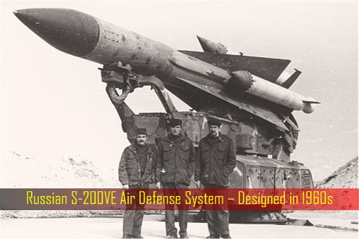 Russian S-200VE Air Defense System – Designed in 1960s