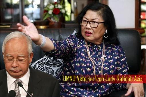 UMNO Veteran Iron Lady Rafidah Aziz Slamming Najib Razak