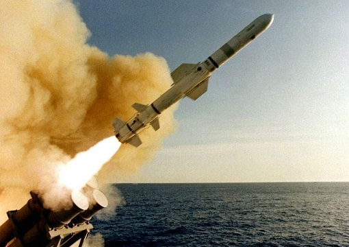 United States Tomahawk Cruise Missile Launched