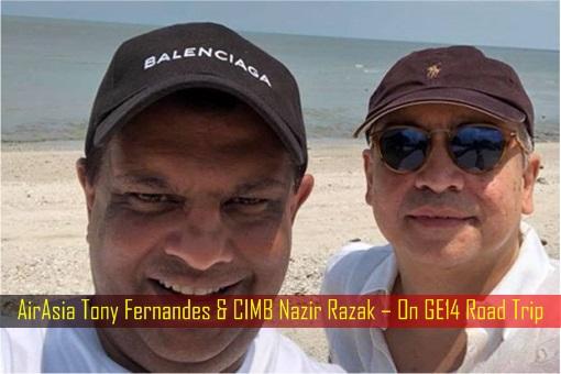 AirAsia Tony Fernandes & CIMB Nazir Razak – On GE14 Road Trip