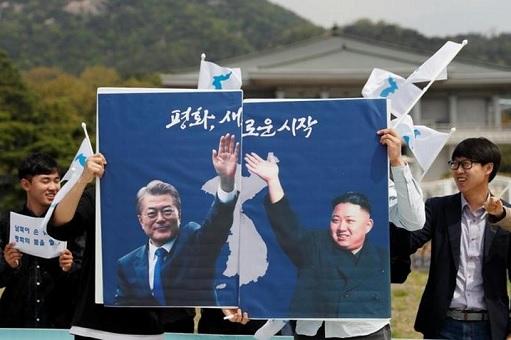 China President Xi Jinping Meets North Korea Kim Jong-un - Unification