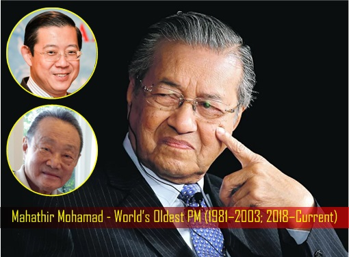 Mahathir Mohamad - Ethnic Chinese To The Rescue - Lim Guan Eng and Robert Kuok