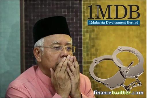 Najib Razak Praying - 1MDB - Handcuffs
