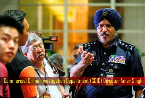 Pavilion Residences - Police Raid Najib and Rosmah Resident- Commercial Crime Investigation Department CCID Director Amar Singh