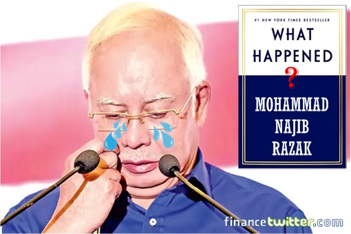 Like Hillary Clinton, Najib Razak Is Blaming Everyone & Everthing - Except Himself & Witch Wife