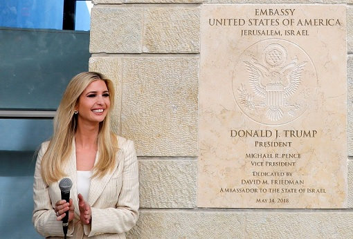 US Embassy in Jerusalem Israel - Ivanka Trump