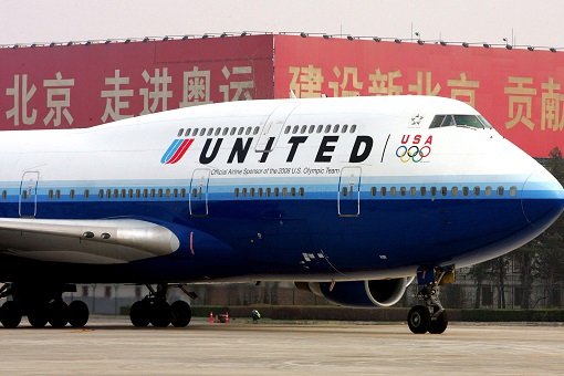 United Airlines in China