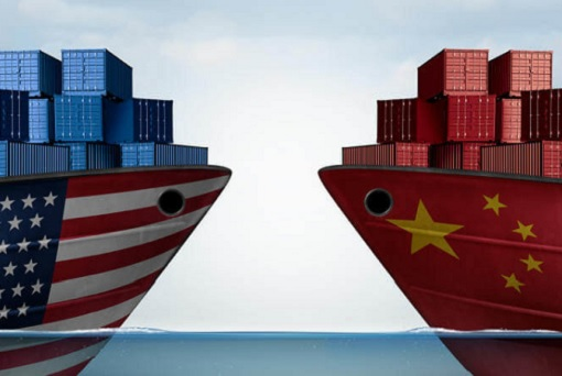 United States and China Trade War - Ships