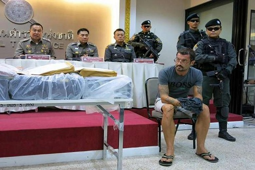 Xavier Andre Justo - Thai Police After His Arrest