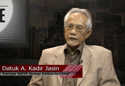 Abdul Kadir Jasin - Former New Straits Times Group Editor-in-Chief