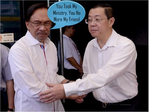 Anwar Ibrahim and Lim Guan Eng - Took Finance Ministry