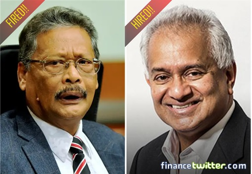 Attorney General - Hired Tommy Thomas and Fired Apandi Ali