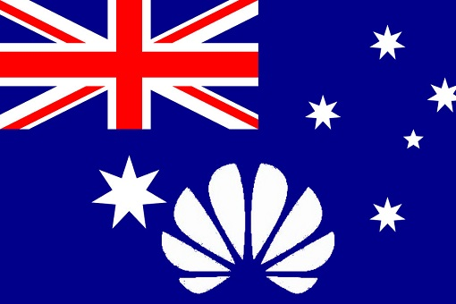 Australia Flag - Huawei - National Security