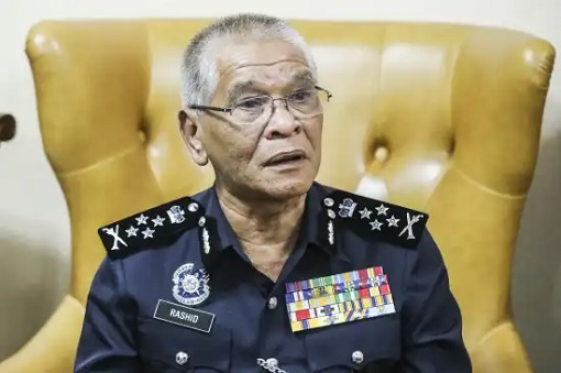 Deputy IGP Noor Rashid Ibrahim