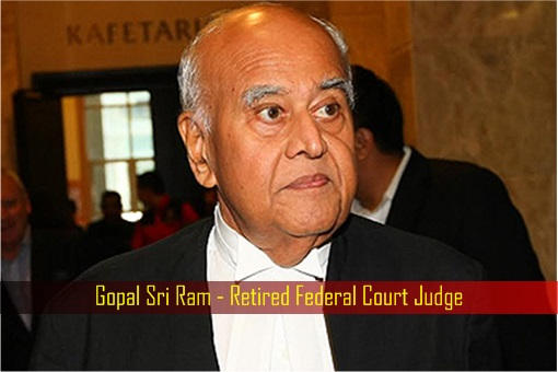 Gopal Sri Ram - Retired Federal Court Judge