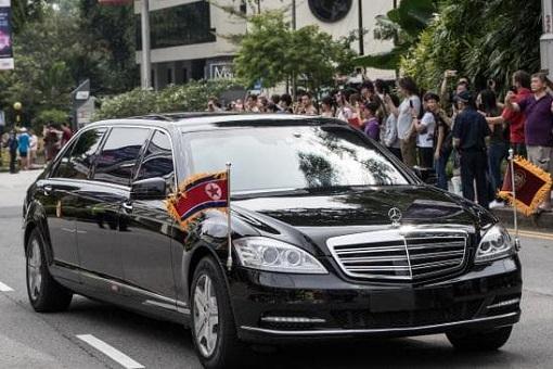 Kim Jong-Un Motorcade - Summit Singapore