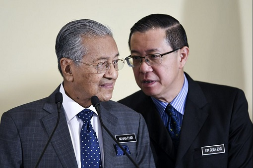 Mahathir Mohamad and Lim Guan Eng - Whisper