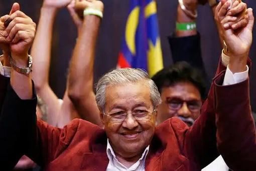 Mahathir Stunning Victory