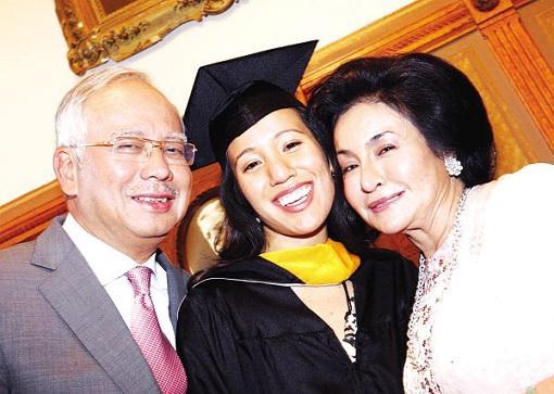 Nooryana Najwa Graduate - Najib Razak and Rosmah Mansor