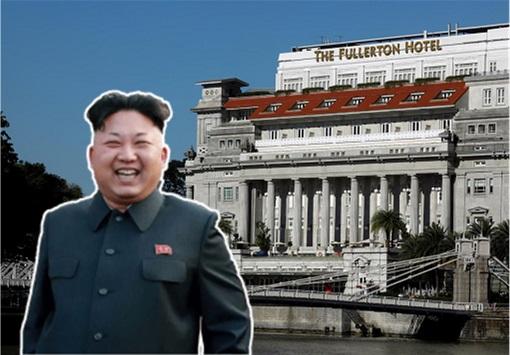 North Korea Kim Jong-un - Stay In Singapore The Fullerton Hotel - Summit 2018