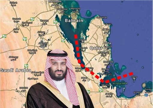 Arab VS Arab - Can't Beat Them, So Saudi Plans To Turn Qatar Into An Island By Digging A 2.8 Billion Riyals Canal