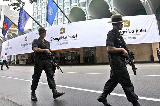 Singapore Shangri-La Hotel - Top Security