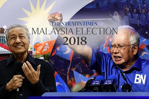 Playing 3R Cards - Straits Times Singapore Still Hopeful Najib's Corrupt UMNO Can Make A Comeback