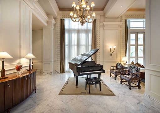 Singapore The Fullerton Hotel - Presidential Suite - Piano