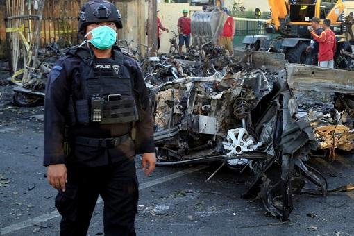 Surabaya Indonesia Terror Attack - Suicide Bombing - 2