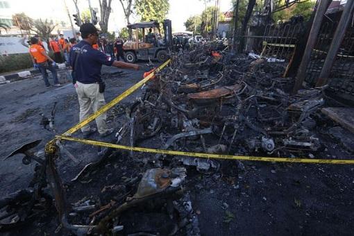 Surabaya Indonesia Terror Attack - Suicide Bombing