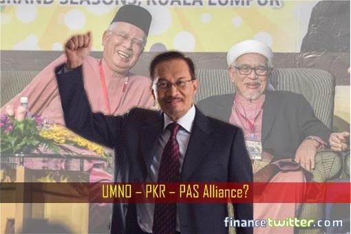 UMNO-PKR-PAS Alliance