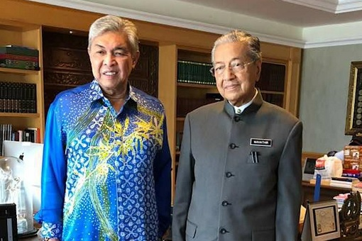Zahid Hamidi Meets Mahathir Mohamad - After 14th General Election