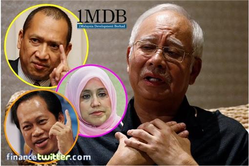 1MDB Scandal - Najib Razak - Nazri Aziz, Ahmad Maslan, Mas Ermieyati Samsudin