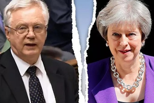 Brexit Secretary David Davis Resignation - Broke Up With PM Theresa May