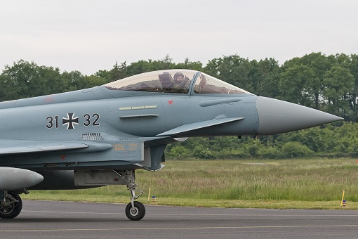 Germany Typhoon fighters