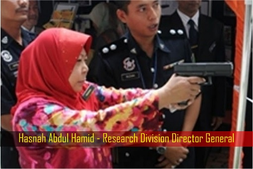 Hasnah Abdul Hamid - Research Division Director General