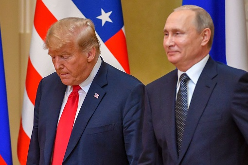 Helsinki Summit - Donald Trump Meets Vladimir Putin - Smile and Worry