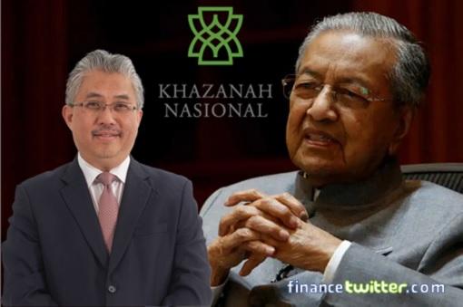Khazanah Nasional Berhad KNB - Mahathir Mohamad and Azman Mokhtar