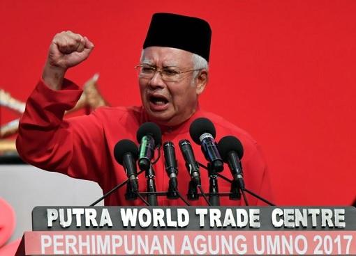 Najib Razak - Deliver Speech - UMNO Assembly 2017